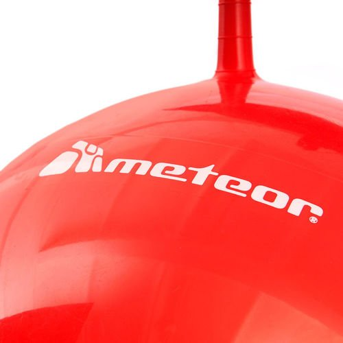 BOUNCY BALL METEOR 55 cm WITH HORN-SHAPED HANDLES