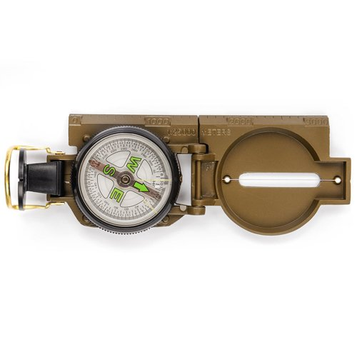 METEOR METAL COMPASS WITH RULLER