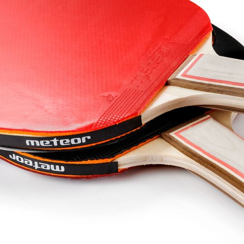 SET OF 2 TABLE TENNIS RACKETS AND 3 BALLS 1 star