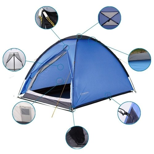 KING CAMP TENT BACKPACKER 2