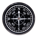 METEOR COMPASS 50 mm ROUND